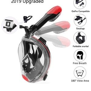 Other - New Snorkel Mask Full Face Diving Mask, Foldable S